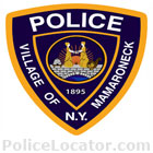 Mamaroneck Village Police Department Patch