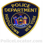 Middletown Police Department Patch