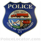 Montgomery Town Police Department Patch