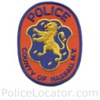 Nassau County Police Department Patch