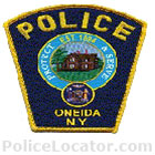 Oneida Police Department Patch