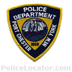Port Chester Police Department Patch