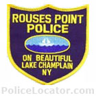 Rouses Point Police Department Patch