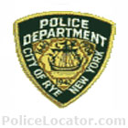 Rye Police Department Patch