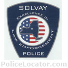 Solvay Police Department Patch
