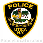 Utica Police Department Patch