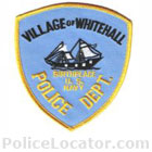 Whitehall Police Department Patch