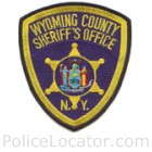Wyoming County Sheriff's Office Patch