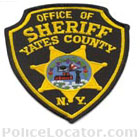 Yates County Sheriff's Office Patch