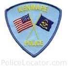 Kenmare Police Department Patch