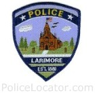 Larimore Police Department Patch