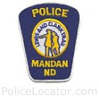 Mandan Police Department Patch