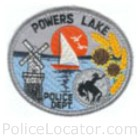 Powers Lake Police Department Patch