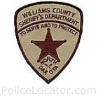 Williams County Sheriff's Office Patch