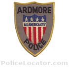 Ardmore Police Department Patch
