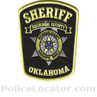 Beckham County Sheriff's Office Patch