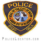 Bixby Police Department Patch