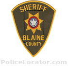Blaine County Sheriff's Office Patch