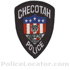 Checotah Police Department Patch
