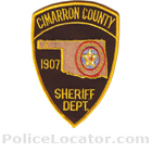 Cimarron County Sheriff's Office Patch