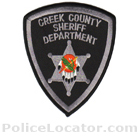 Creek County Sheriff's Office Patch