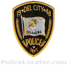 Del City Police Department Patch