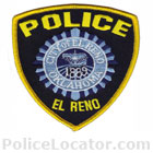 El Reno Police Department Patch