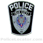 Elk City Police Department Patch