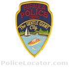 Eufaula Police Department Patch