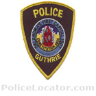 Guthrie Police Department Patch