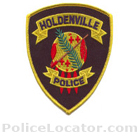 Holdenville Police Department Patch