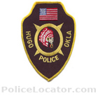 Hugo Police Department Patch