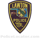 Lawton Police Department Patch