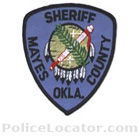 Mayes County Sheriff's Office Patch