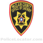 McClain County Sheriff's Office Patch