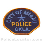 Miami Tribe of Oklahoma Police Department Patch