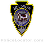 Muldrow Police Department Patch