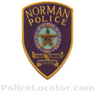 Norman Police Department Patch