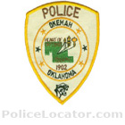 Okemah Police Department Patch