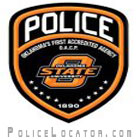 Oklahoma State University Police Department Patch