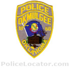 Okmulgee Police Department Patch
