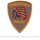 Pawhuska Police Department Patch