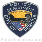 Perkins Police Department Patch
