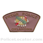 Pryor Police Department Patch