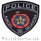 Purcell Police Department Patch