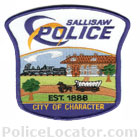 Sallisaw Police Department Patch