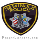Seminole Police Department Patch