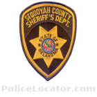 Sequoyah County Sheriff's Office Patch