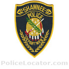 Shawnee Police Department Patch