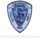 Tecumseh Police Department Patch